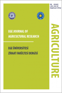 Ege Journal of Agricultural Research