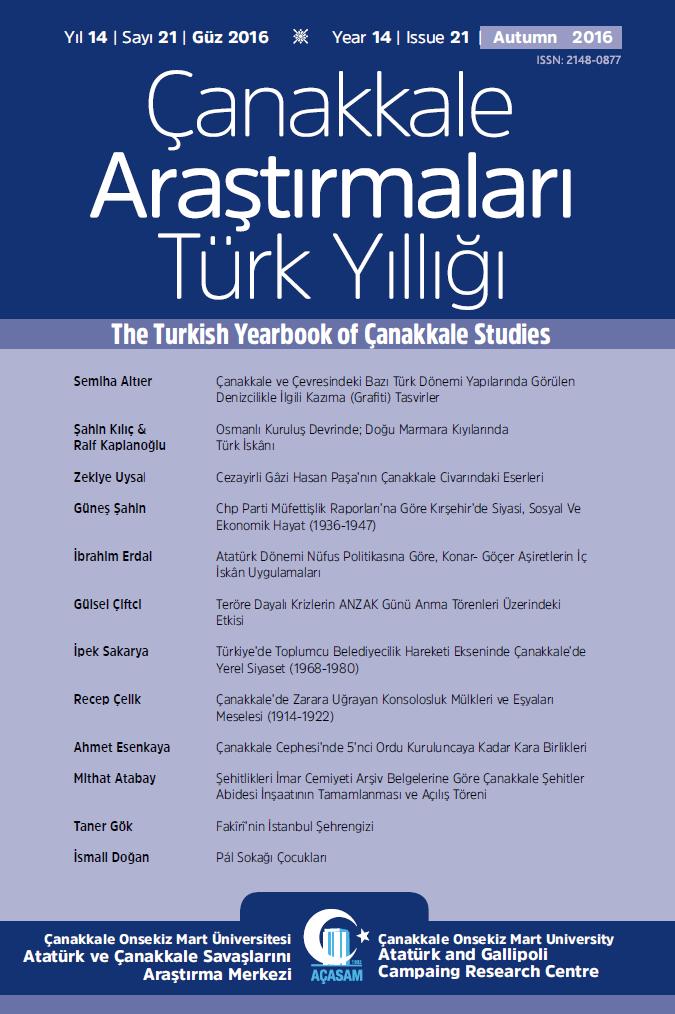 Çanakkale Araştırmaları Türk Yıllığı