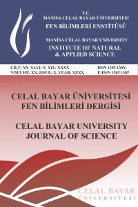 Celal Bayar University Journal of Science