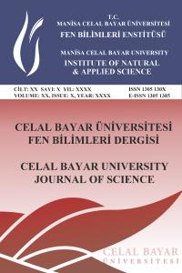 Celal Bayar Üniversitesi Fen Bilimleri Dergisi