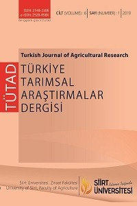 Turkish Journal of Agricultural Research